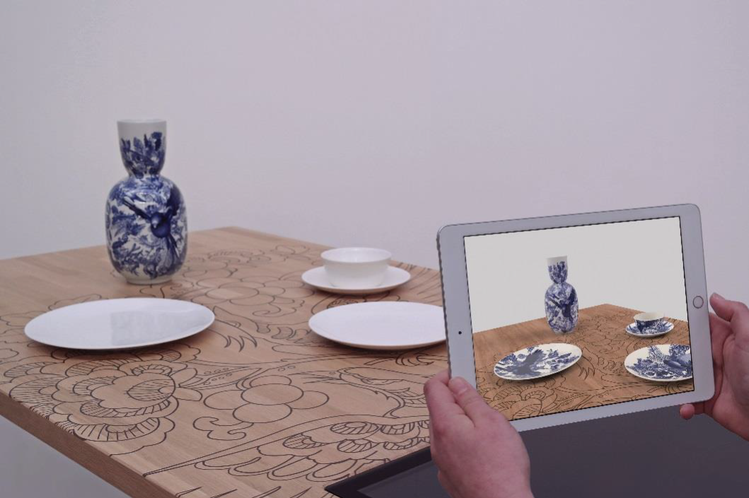 'Augmented Blueware' wint Dutch Design Award 2018
